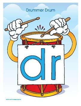 DR (Drummer Drum) Blend Buddy Poster