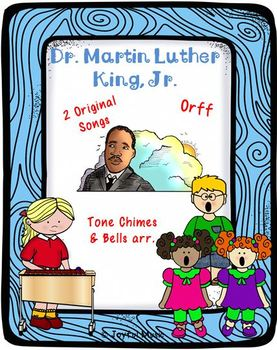 DR. MARTIN LUTHER KING, JR. - Songs & Instrumental Activities PROGRAM PACKAGE