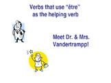 DR & MRS VANDERTRAMPP Verbs Power Point