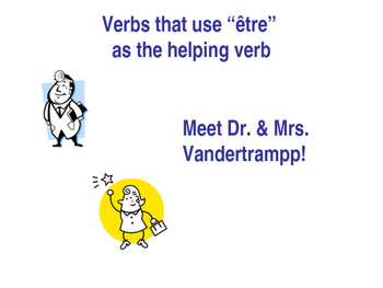 DR & MRS VANDERTRAMPP Verbs Power Point