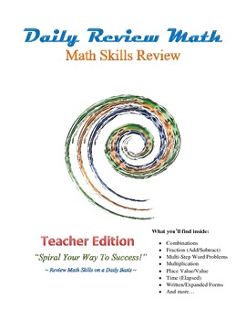 DR Math Skills Review Teacher Edition