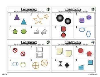DR Math Stations 4x4