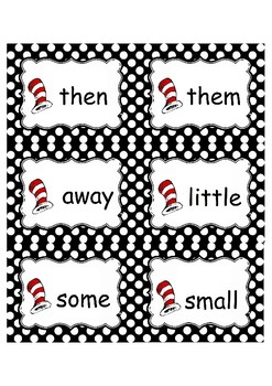 DR. SEUSS INSPIRED LITERACY CENTERS, Read Across America