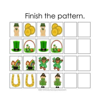 ST. PATRICK'S DAY Patterns
