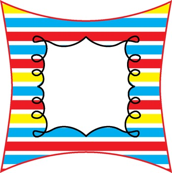 March * Classroom Decor * 3in Squares * Numbers * Editable