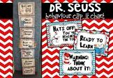 DR. Seuss Behaviour Chart