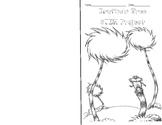 DR. Seuss Truffula Tree STEM Booklet
