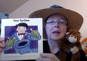 DRA 1 (Real/Fantasy & Sequence) Lesson Plan for Two Turtles