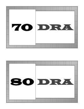 DRA 2, 4-8 Labels