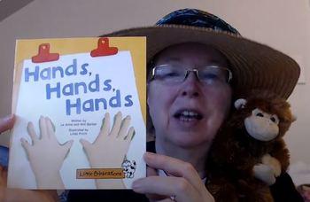 DRA 2 (main idea) Balanced Literacy Lesson Plan for Hands, Hands, Hands