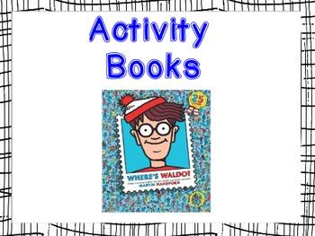 DRA Book Bin Labels