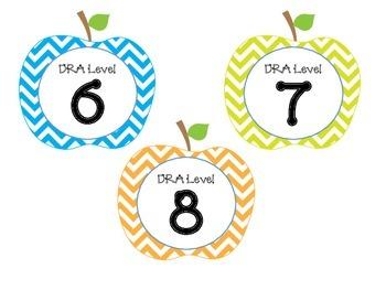 DRA Book Labels