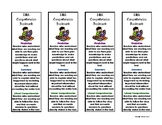 DRA - Developmental Reading Assessment Comprehension Bookmarks