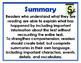 DRA - Developmental Reading Assessment Comprehension Posters