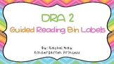 DRA Level Book Labels