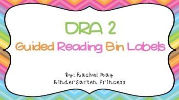 DRA Level Book Labels