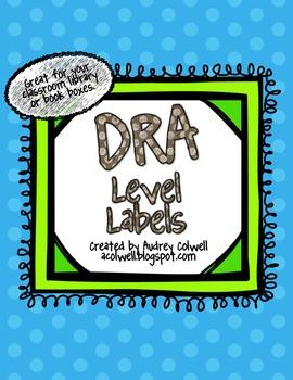 DRA Level Labels