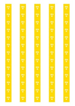 DRA Level Spine Labels: Level 16 - Avery A4 L7651