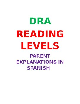 DRA Levels in Spanish