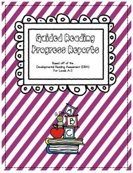 DRA Parent Progress Reports
