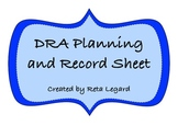 DRA Planning and Record Sheet