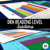 DRA Reading Level Student Data Trackers