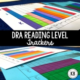 DRA Reading Level Student Data Trackers