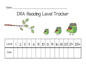 DRA Reading Level Tracker