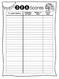 DRA Score Spreadsheet