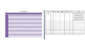 DRA Tracking Sheet (Developmental Reading Assessment)