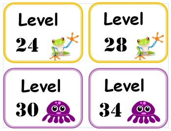 DRA and Guided Reading Book Box Label Set - Buy combined set and save!