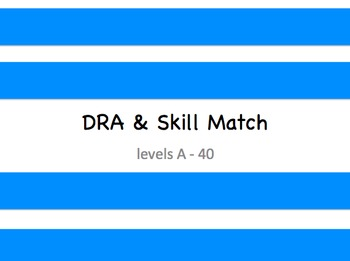 DRA and Skill Match
