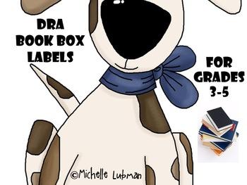 DRA book box labels {3 different sets}
