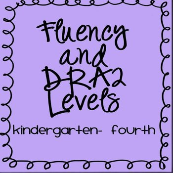 DRA2 and fluency levels