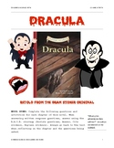 DRACULA by Bram Stoker: Classic Starts Abridged Version NO