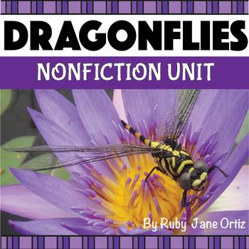 DRAGONFLY NONFICTION UNIT (Booklet, Craft Pattern, Lapbook)