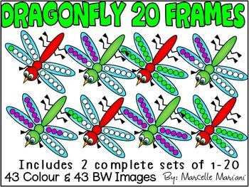 DRAGONFLY TWENTY FRAMES- SPRING TEN FRAMES