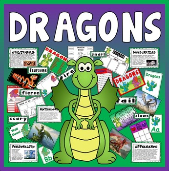 DRAGONS - RESOURCES AND DISPLAY KS1-2, TOPIC, MYTHOLOGY