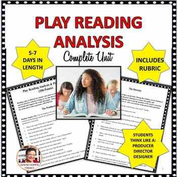 DRAMA CLASS:  PLAY READING ANALYSIS PRESENTATION AND DESIGN