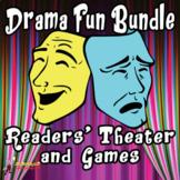 DRAMA FUN:  MIDDLE SCHOOL DRAMA GAMES & READERS' THEATER
