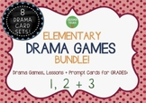 DRAMA GAMES + Lesson Activities for Elementary (Grades 1, 2 + 3)