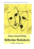 DRAMA JOURNAL REFLECTION HANDOUTS