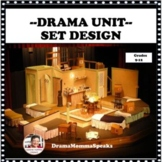 DRAMA LESSON AND UNIT:  SET DESIGN HIGH SCHOOL LEVEL DISTA