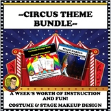 BUNDLE DRAMA LESSON:  CIRCUS THEME--COSTUME DESIGN & STAGE MAKEUP