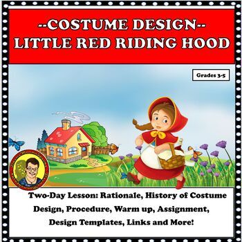 DRAMA LESSON: COSTUME DESIGN FOR LITTLE RED RIDING HOOD DISTANCE LEARNING