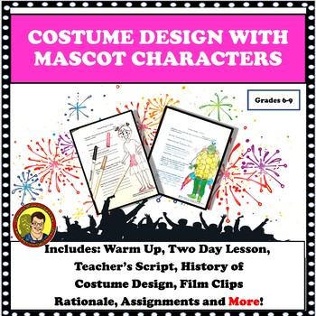 DRAMA LESSON: COSTUME DESIGN WITH MASCOT CHARACTERS