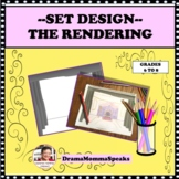 DRAMA LESSON SET DESIGN THE RENDERING FOR A FAIRY TALE DISTANCE LEARNING