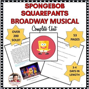 DRAMA LESSON:  SPONGEBOB SQUAREPANTS, THE BROADWAY MUSICAL