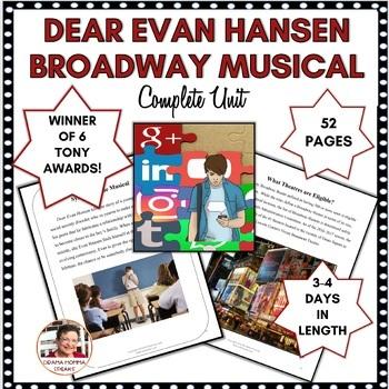 DRAMA LESSON:  DEAR EVAN HANSEN, THE BROADWAY MUSICAL