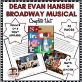DISTANCE LEARNING DRAMA LESSON:  DEAR EVAN HANSEN, THE BRO
